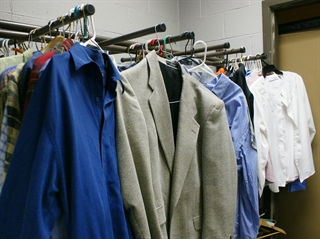 Donations that fill Mama Mac's Closet continue to benefit South Division students as well as nearby community members. (Photo courtesy of Milwaukee Public Schools)