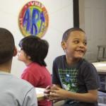 Children remember Dr. King at Walker's Point art center workshop