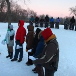 Lake Park protest calls attention to Indian mounds