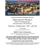 Denmark silent auction fundraiser at Discovery World