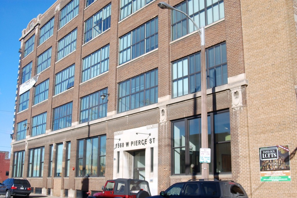 The Paper Box Lofts, 1560 W. Pierce St., opened in 2014. (Photo by Edgar Mendez)
