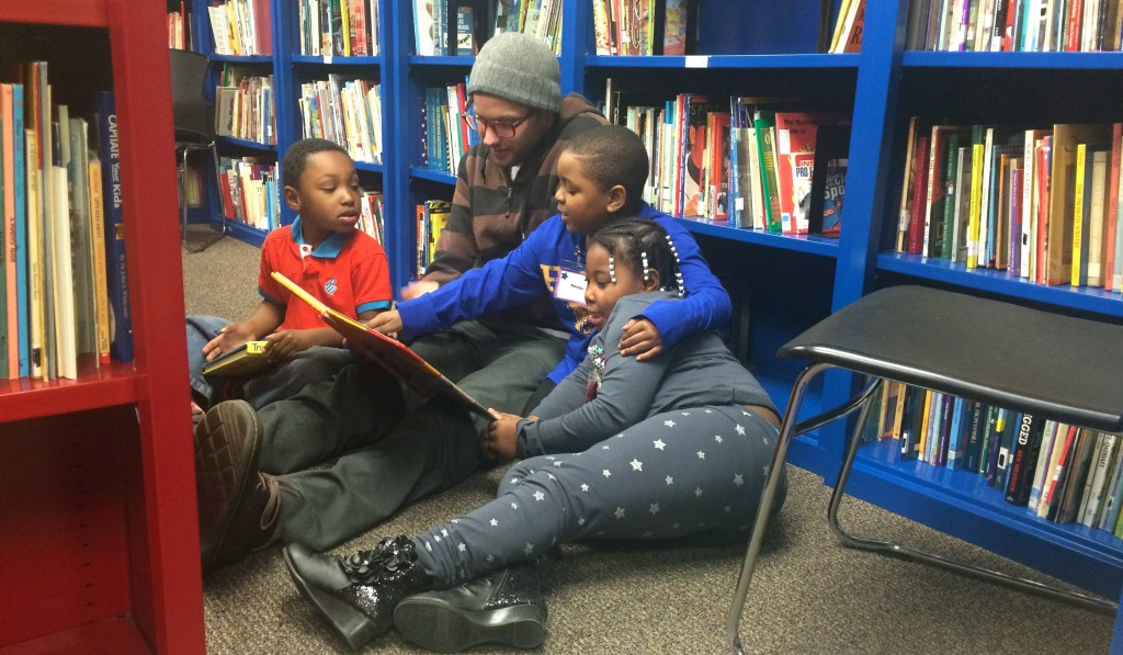 If reading is your passion, you can share your love of literature with children by volunteering at Next Door. (Photo courtesy of Next Door)