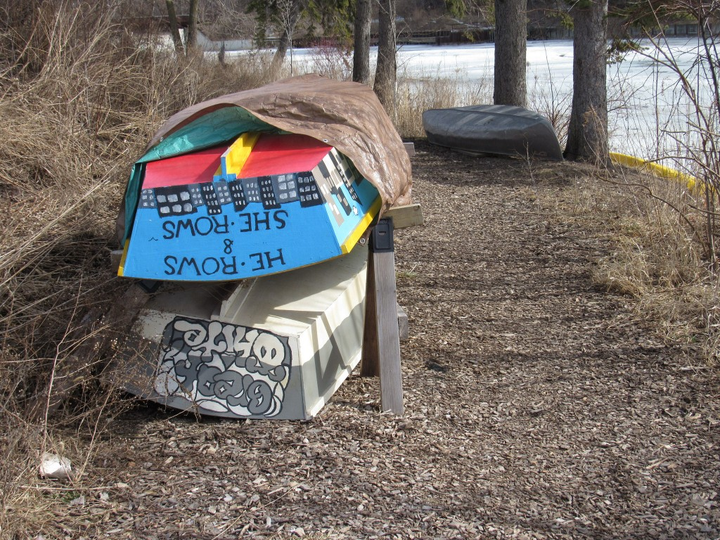 Turtle Park offers a boat launch for canoes and kayaks. (Photo by Morgan Hughes)