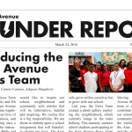 Auer Avenue Thunder Report, No. 1