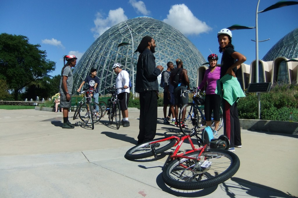 Follow these tips to bike safely in Milwaukee. (Photo by Wyatt Massey)