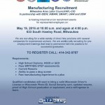 Direct hire positions available at manufacturing job fair May 19