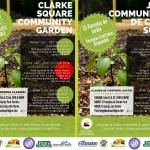Clarke Square community garden opportunities