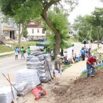 Habitat for Humanity and Lowe's 'Rock the Block' in Washington Park