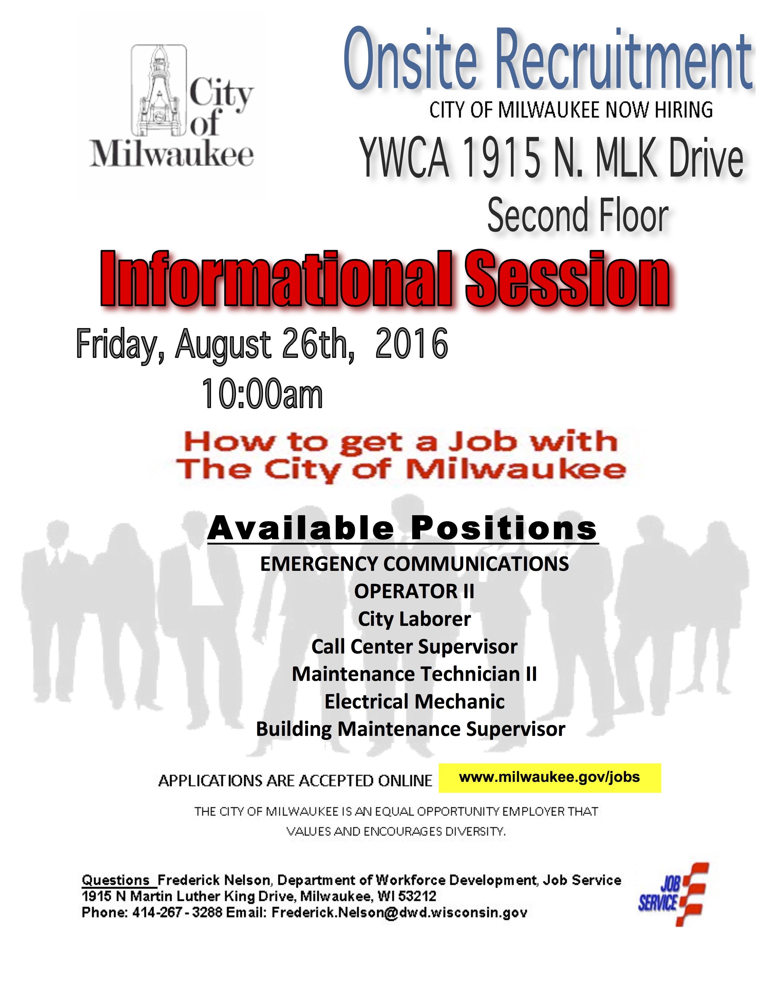 City of Milwaukee Jobs copy