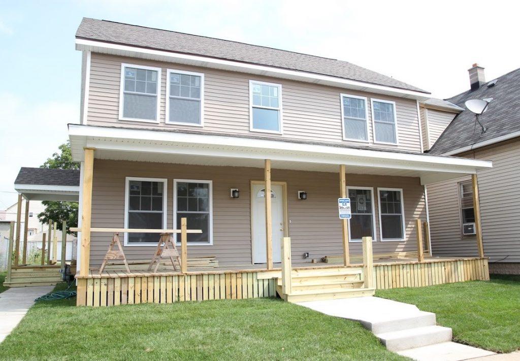 Mineral Street house (Photo courtesy of Milwaukee Christian Center)