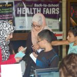 Health Fair provides vaccinations, emergency planning for health department