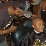 Books in the Barbershop initiative launched at Chicago Cutz