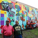 Wisconsin Black Historical Society mural brings 'joy' and 'light' to Sherman Park