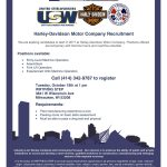 Next week at WRTP/BIG STEP: Harley-Davidson recruitment