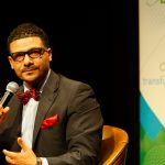 Athena speakers bureau hosted kick-off event with Dr. Steve Perry to discuss the education of boys of color