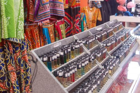 Birdsong's is known for an expansive stock of body, perfumed and essential oils, African-themed jewelry, clothing and spiritual items. (Photo by Clara Hatcher)