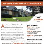 Upcoming workshops for City of Milwaukee's Homebuyer Assistance Program