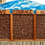The Walls of Strength project aims to instill hope, courage and love in Milwaukee