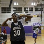 Midnight basketball scores as 'positive activity' for young men