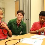 Local middle and high school students participate in Mini-Med School