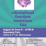 Join MCSAP in Recognizing International Overdose Awareness Day August 31