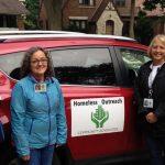 A morning with Community Advocates' Homeless Outreach Nursing Center staff