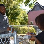 Black elected leaders canvass Amani to learn neighborhood concerns