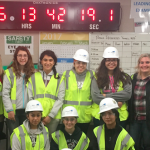 St. Joan Antida High School students tour Milwaukee Bucks new arena, learn about careers in the construction industry
