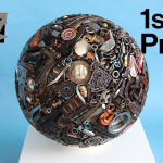 Recycled art exhibition promotes reuse for Earth Day
