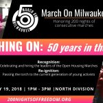 After 200 Nights of Freedom, March On Milwaukee 50th plans finale to recognize Open Housing Marchers and reignite the next generation of activists