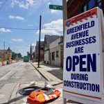 Greenfield Avenue construction puts pressure on local businesses