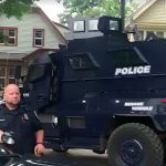 West Allis Police Department uses armored vehicle to serve search warrant on Milwaukee's North Side