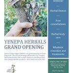 Yenepa Herbals Grand Opening on Chavez Drive