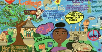 New mural illustrates positive choices for teens