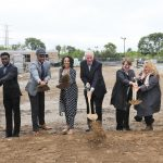 Royal Capital Group and Maures Development Group break ground on new library and apartment development