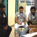 Teens and police strive to surmount barriers through personal interactions