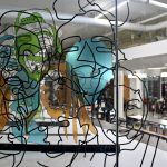 Sculpture of community self-portraits unveiled; artist-in-residence announced for Mitchell Street library