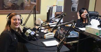 NNS reporter Allison Dikanovic goes live on WGLB 1560AM