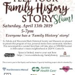 Milwaukee storytellers share their Family History stories at Wisconsin Black Historical Society and Museum
