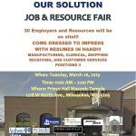 Our Community, Our Solution job & resource fair