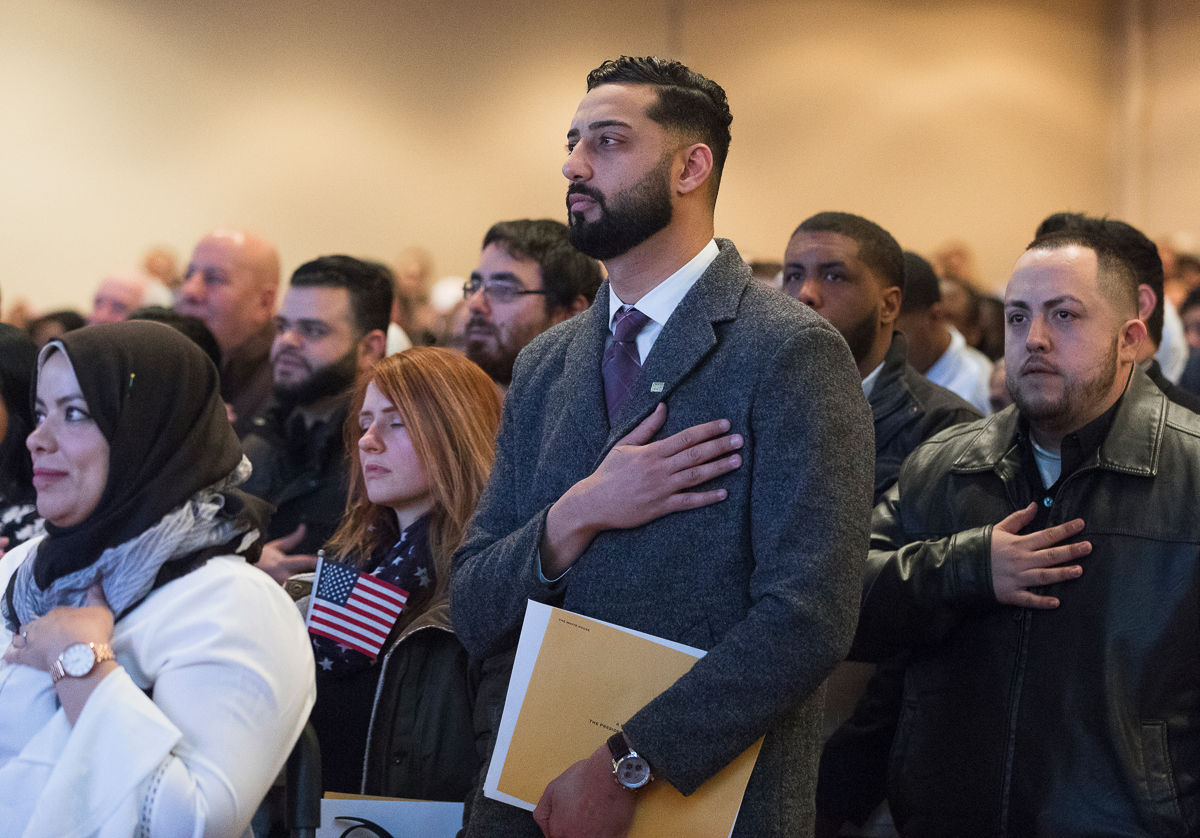 The road to becoming a U S  citizen | Milwaukee Neighborhood
