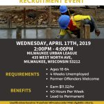 City of Milwaukee General Labor & Construction Jobs Recruitment Event: Wednesday, April 17