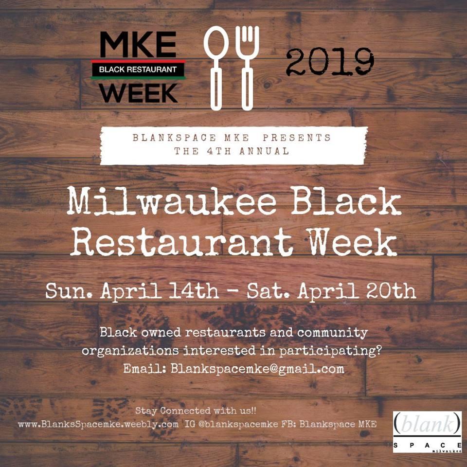 2019 Milwaukee Black Restaurant Week | Milwaukee