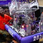 NNS Video: Riverside's RoboTigers robotics team roars its way to world championship