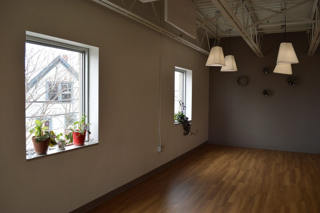 Joanna's yoga studio