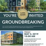 Clarke Square Apartments groundbreaking ceremony