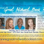 11th Annual Great Midwest Book Fest — Saturday, July 13, 2019