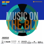 """RIVERWEST BID HOSTING """"Music on the BLT"""" MUSIC EVENT Featuring Shle Berry"""