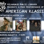 'American Klassiks' performance coming to Martin Luther King branch library