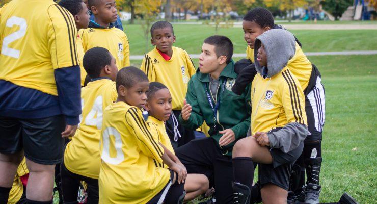 NNS Spotlight: America SCORES Milwaukee teaches youths teamwork through service and soccer